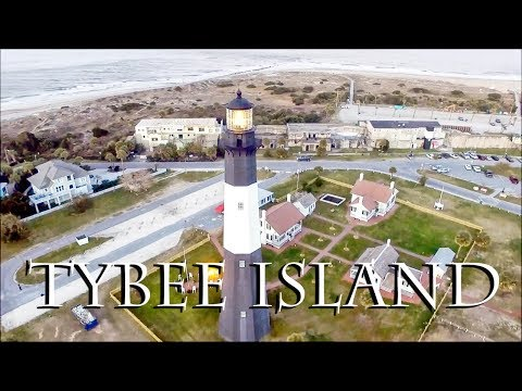 Tybee Island Lighthouse - Drone Footage