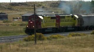 Rock & Rail Rr (rrrr 201 & 401) In Pueblo, Co. 09/27/2010 ©