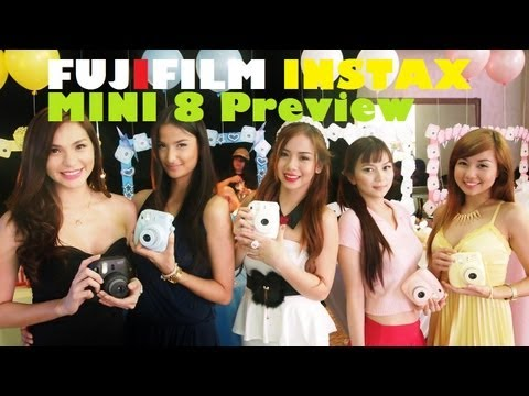 Fujifilm Instax Mini 8 Launch Preview - Instant Camera With Credit Card-Sized Prints For PHP 4,180