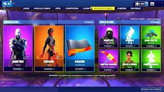 BOUTIQUE FORTNITE du 22 Avril 2019 ! ITEM SHOP April 22 2019 !