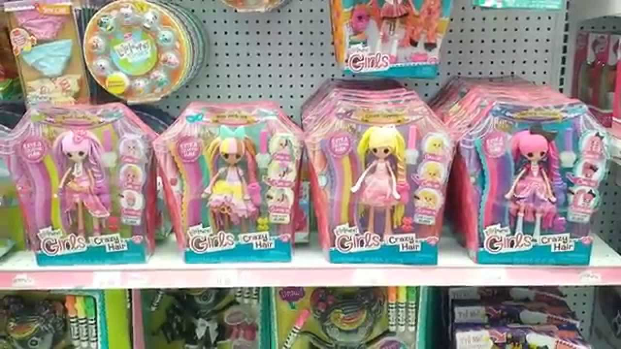 lalaloopsy girls crazy hair found at toys r us babies r us rockaway nj youtube. Black Bedroom Furniture Sets. Home Design Ideas