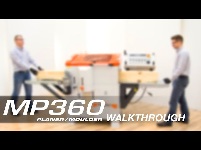 Wood-Mizer MP360 | High production four-sided moulder and planer
