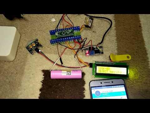 сигнализация на Arduino с постановкой на охрану и оповещением по смс