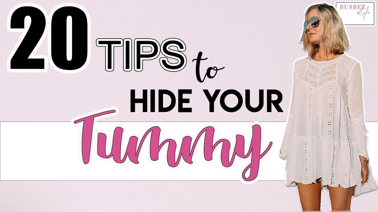 eda7de57f1f 20+ Tips to Help You Hide Your Tummy! - YouTube