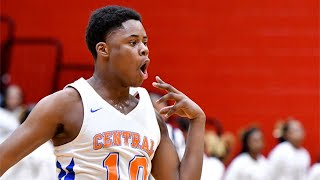 Central basketball star hasn't reached full potential but already putting up big numbers