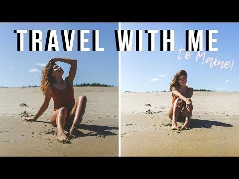 A WEEKEND IN FREEPORT MAINE | TRAVEL WITH ME!