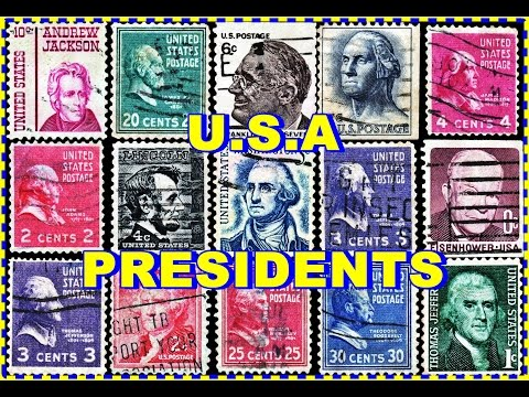 PRESIDENTS OF USA POSTAGE STAMPS IN GOOGLE EARTH