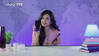 VIVO Y95 2018 Unboxing by Nadia and Bangla Reviews.