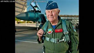 第一位突破音障的传奇试飞员去世 享年97岁 - YouTube
