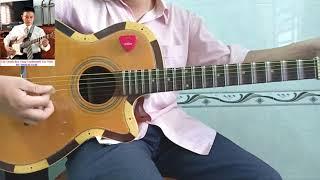 Tự học ghita cổ | Tổng hợp vọng cổ dây đào câu 1&2-có bài dàn mẫu | Tấn Thành Bàu Năng