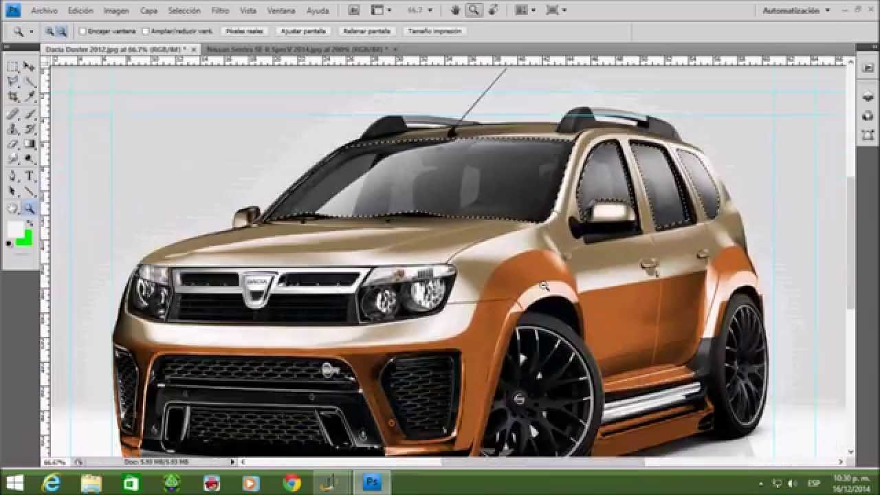 tuning virtual 2014 dacia duster 2012 youtube. Black Bedroom Furniture Sets. Home Design Ideas