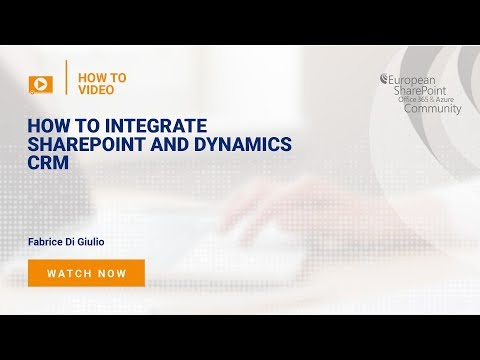 How to Integrate SharePoint and Dynamics CRM
