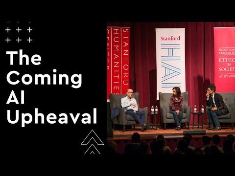 Fei-Fei Li & Yuval Noah Harari in Conversation – The Coming AI Upheaval