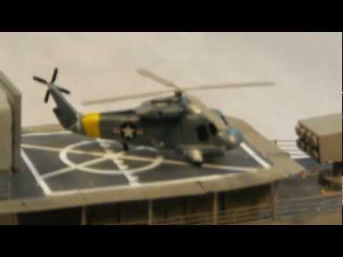 USS Knox resin models build: part 5