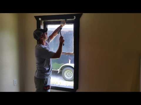 DIY - Installing Vinyl Replacement Windows