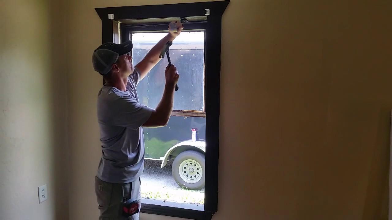 installing vinyl replacement windows diy installing vinyl replacement windows youtube