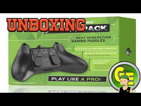 Tear It Open, Strike Pack F.P.S. Dominator (Controller Paddles)  by Collective Minds