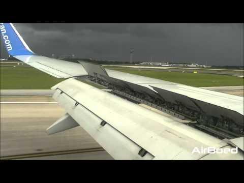 airTran Airways Boeing 737-700 Landing Orlando International Airport - HD