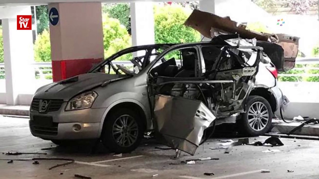 Man Suffers Burns After Car Explodes In Singapore Park