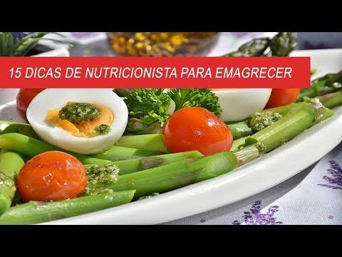 15 DICAS DE NUTRICIONISTA PARA EMAGRECER