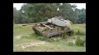 Panzerwracks im Brander Wald
