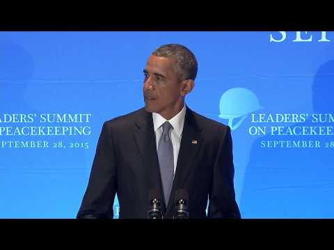 President Obama Chairs U.N. Peacekeeping Summit