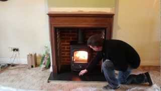 Clearview Pioneer 400 Wood Burning Stove, Fireplace And Chimney Relining