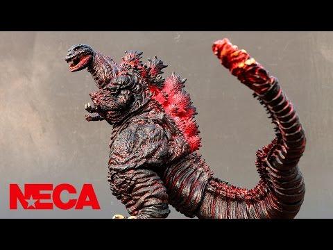 NECA Shin Godzilla Review and Comparison