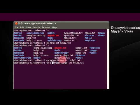 How To Use cp Command To copy files and folders In Linux Or Ubuntu Step By Step Tutorial