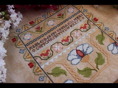 ☛ Античный СЭМПЛЕР | Antique Sampler