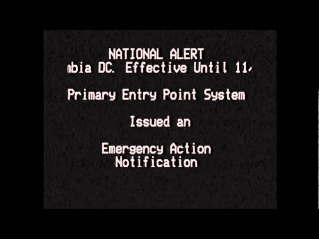 National Emergency Alert System test