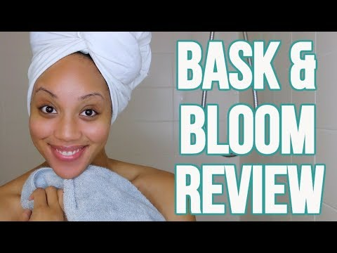 BASK & BLOOM ESSENTIALS REVIEW & DEMO