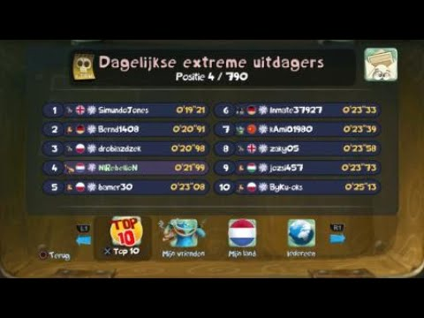 "Rayman Legends extreme daily 11-3-18 pit grab them quickly diamond 21""99"