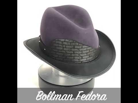 4e210c328 BOLLMAN FEDORA BY BOLLMAN HAT COMPANY