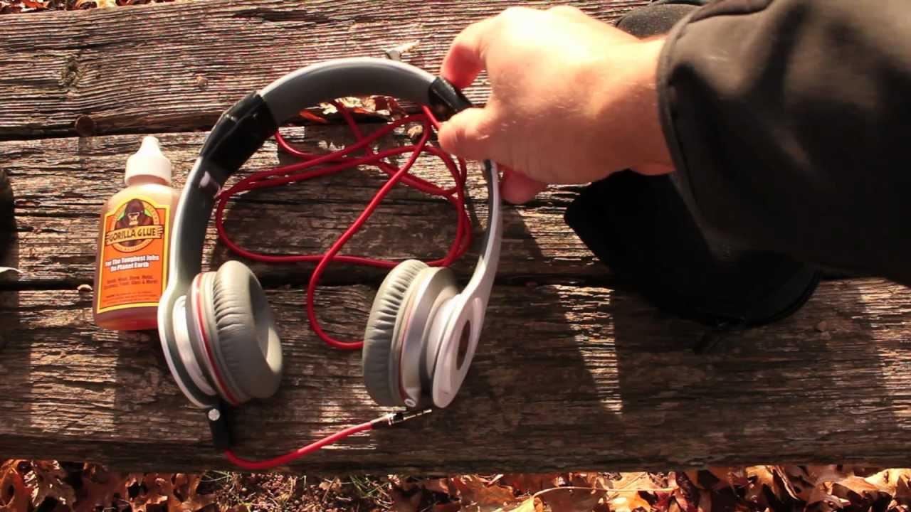 How to fix Beats by Dr  Dre Headphones (Custom Headband Fix)