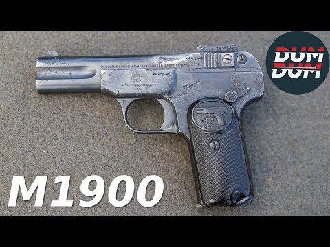 FN M1900 opis pištolja