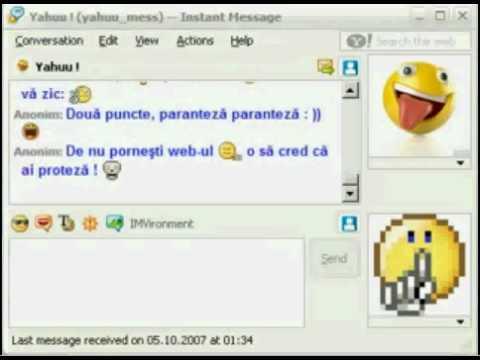 Imnul Yahoo Messenger Romania