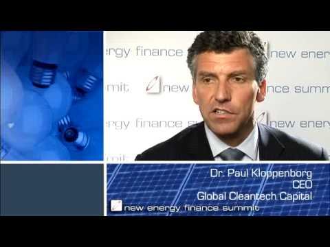 Dr. Paul Kloppenborg, CEO, Global Cleantech Capital