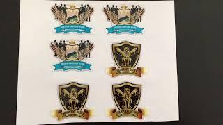 видео объемные наклейки с логотипом