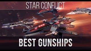Star Conflict: Best Gunships