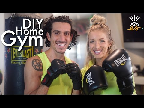 DIY Home Gym to Save Money, Save Time, & Get In Shape! Our Favorite Equipment