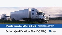 The Driver Qualification File (DQF) Explained