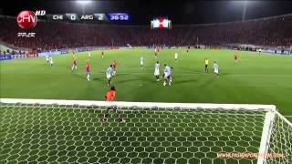 Chile 1 - 2 Argentina - Clasificatorias 2014