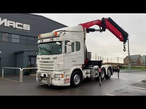 Scania (2012) R480 6x2 F800RA.2.26 Front Legs