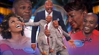 Top 5 moments from January 2019! Steve Harvey is on fire! | Family Feud