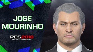 How to create José Mourinho in PES 2018 (FAST)