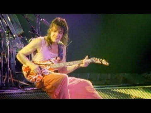 Eddie Van Halen Eruption Guitar Solo Live In New Haven 1986 Youtube