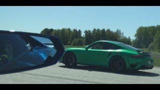 700 HP Lamborghini Aventador LP700-4 vs 750 HP Porsche 991 Turbo Mk I SMR 750