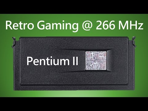Pentium II 266 DOS Windows 98 Retro Gaming