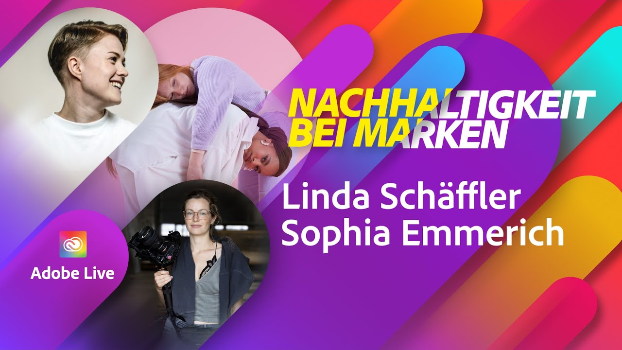 Sustainable brands and labels with Linda Schäffler  Adobe Live